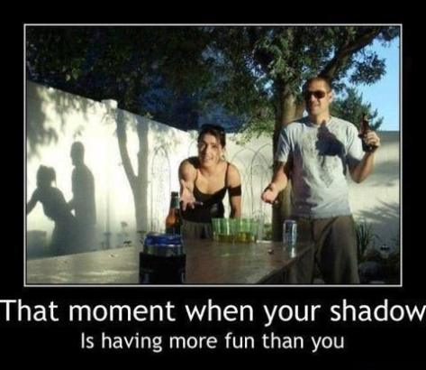 funny shadow