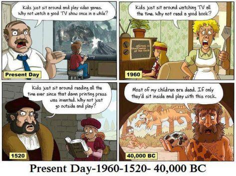 evolution of children